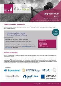 4th Impact Forum Berlin Einladung
