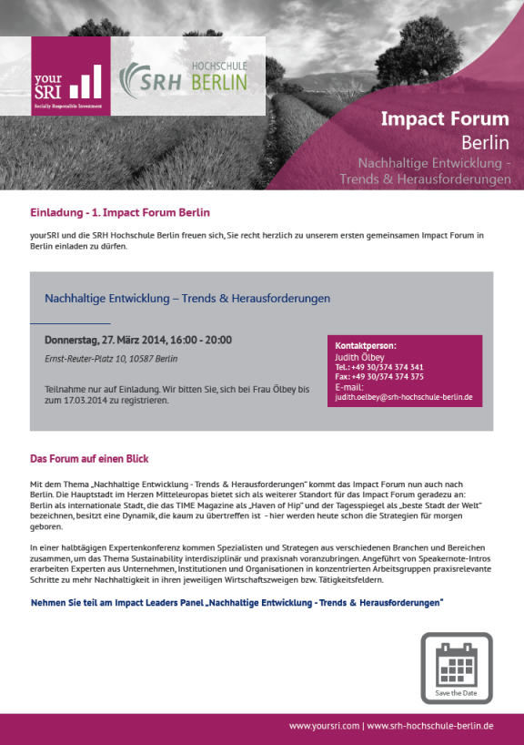 Impact Forum Berlin