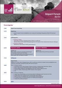3rd Impact Forum Berlin Agenda