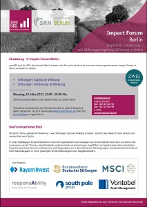 4th Impact Forum Berlin Einladung
